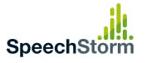 SpeechStorm logo