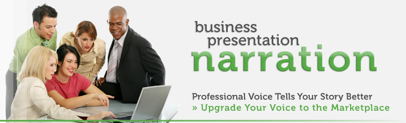 Business Presentation Narration