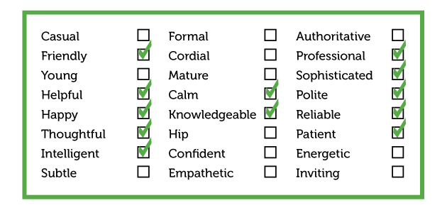 persona-traits