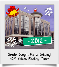 Santa Bought Us a Building