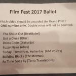 Film Fest participants.